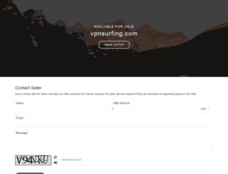 vpnsurfing.com screenshot