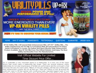vprxvirilitypills.com screenshot