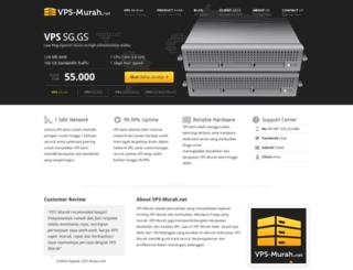 vps-murah.net screenshot
