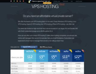 vpshostingdeal.com screenshot