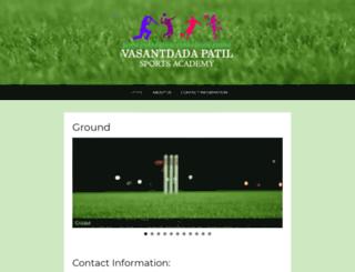 vpsportsacademy.in screenshot