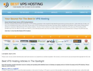 vpsserver-hosting.net screenshot