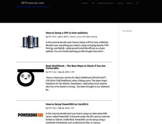vpstutorial.com screenshot