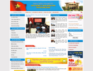vpub.quangbinh.gov.vn screenshot