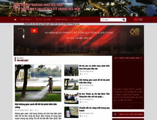 vqh.hanoi.gov.vn screenshot