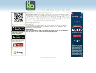 vradio.org screenshot