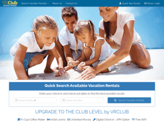 vrclubonline.com screenshot