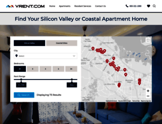 vrent.com screenshot