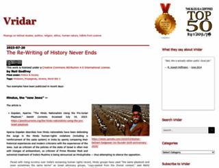 vridar.org screenshot