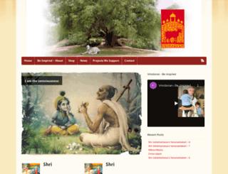 vrindavan.com screenshot