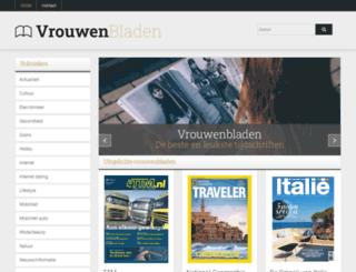 vrouwenbladen.nl screenshot