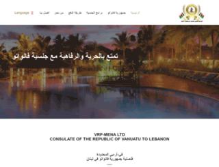 vrp-mena.com screenshot