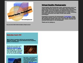 vrphotography.com screenshot