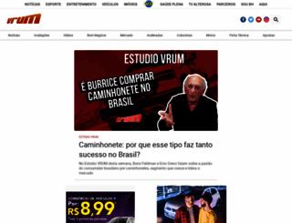 vrum.com.br screenshot