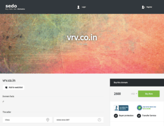 vrv.co.in screenshot