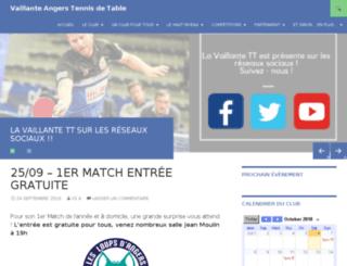 vs-angers-tennisdetable.com screenshot