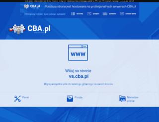 vs.cba.pl screenshot