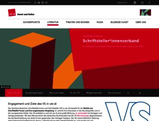 vs.verdi.de screenshot