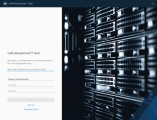 vsantco.vmware.com screenshot