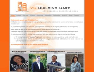 vsbuildingcare.nl screenshot