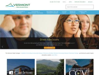 vsc.edu screenshot