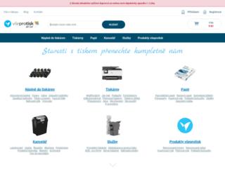 vseprotisk.cz screenshot
