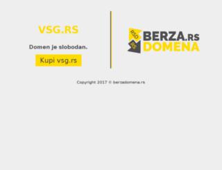 vsg.rs screenshot