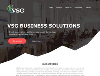 vsgbusinesssolutions.com screenshot