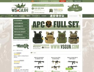 vsgun.com screenshot