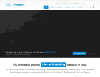 vsinfotechs.com screenshot