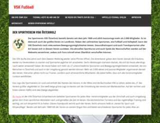 vsk-fussball.de screenshot