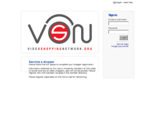 vsn.shopmetrics.com screenshot