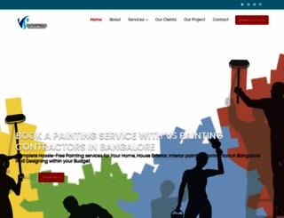 vspaintingcontractors.com screenshot