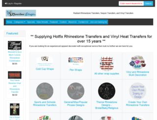 vsrhinestones.com screenshot