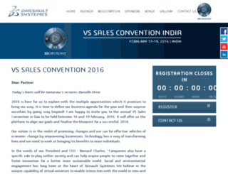 vssalesconvention.com screenshot