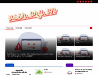 vssr.org.vn screenshot