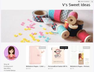 vssweetideas.storenvy.com screenshot