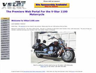 vstar1100.com screenshot