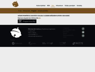 vstupenky.mdksokolov.cz screenshot