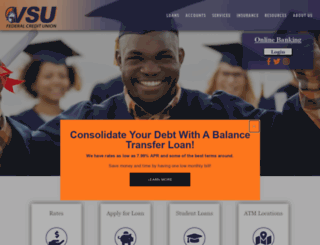 vsufcu.org screenshot
