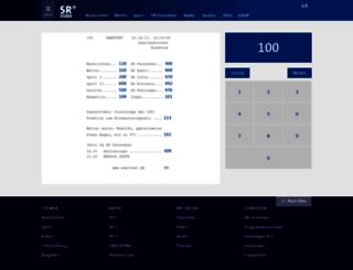 vt.sr-online.de screenshot