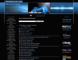 vtalkradio.com screenshot