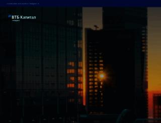 vtbcapital.com screenshot