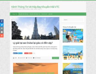 vtcvietnam.edu.vn screenshot