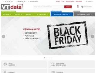 vtdata.cz screenshot