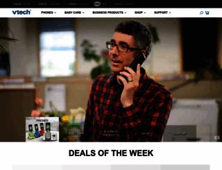 vtechphones.com screenshot
