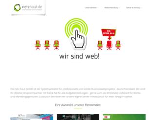 vtigerhosting.de screenshot