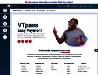 vtpass.com screenshot