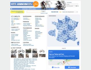 vtt-annonces.com screenshot