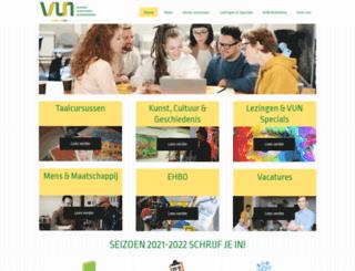 vu-nijkerk.nl screenshot